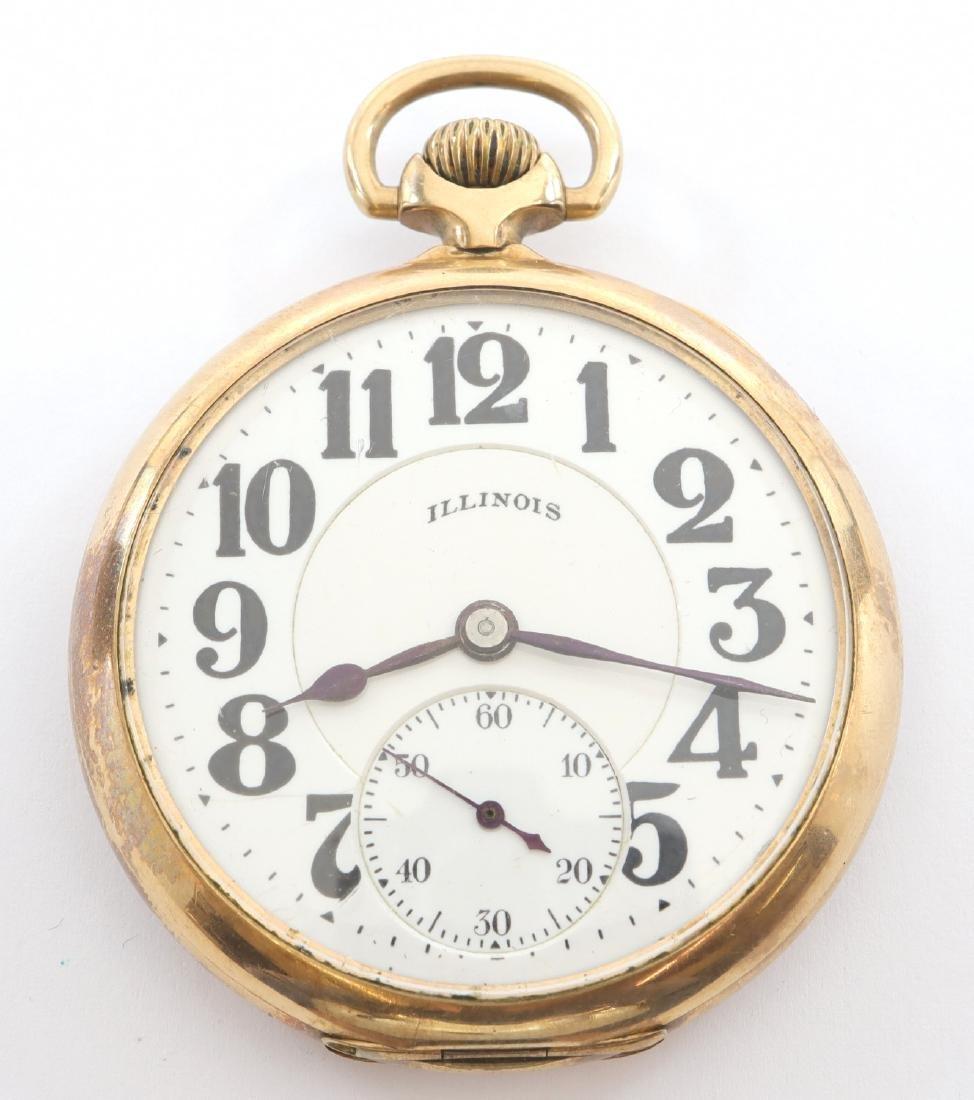 "Illinois ""Bunn Special"" Railroad watch"