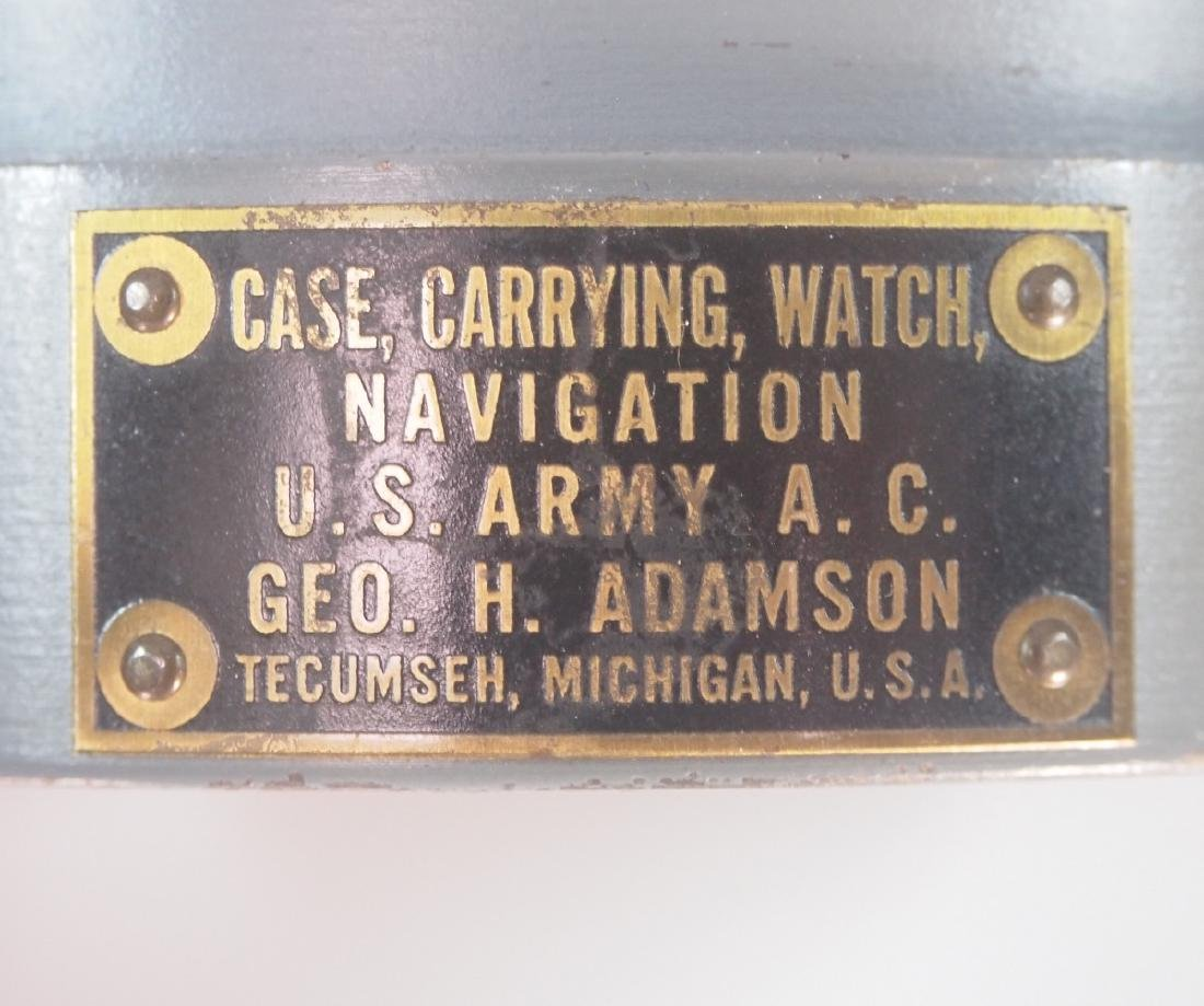 Hamilton Model 4992B Military Hack Watch with case - 3