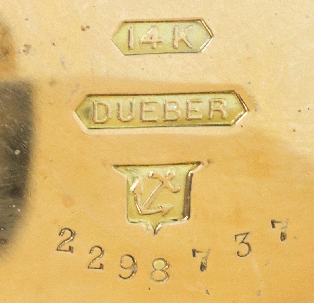 Hampden/Dueber 14k Multi-Gold pendant watch - 5