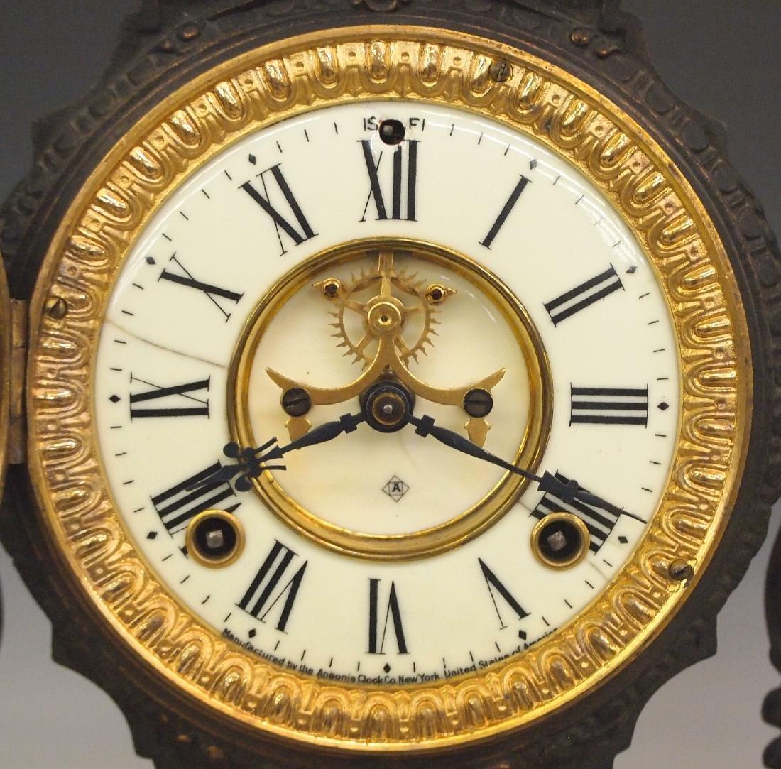 """Ansonia """"Don Caesar and Don Juan"""" figural clock - 2"""