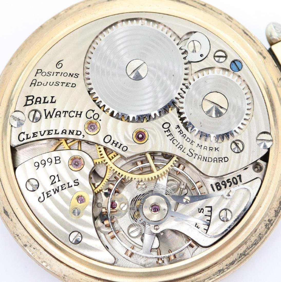 Ball-Hamilton 999B Railroad watch - 2