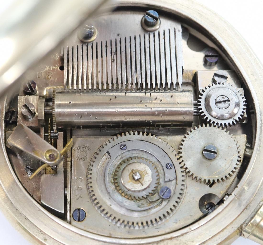 Swiss Musical pocket watch - 2
