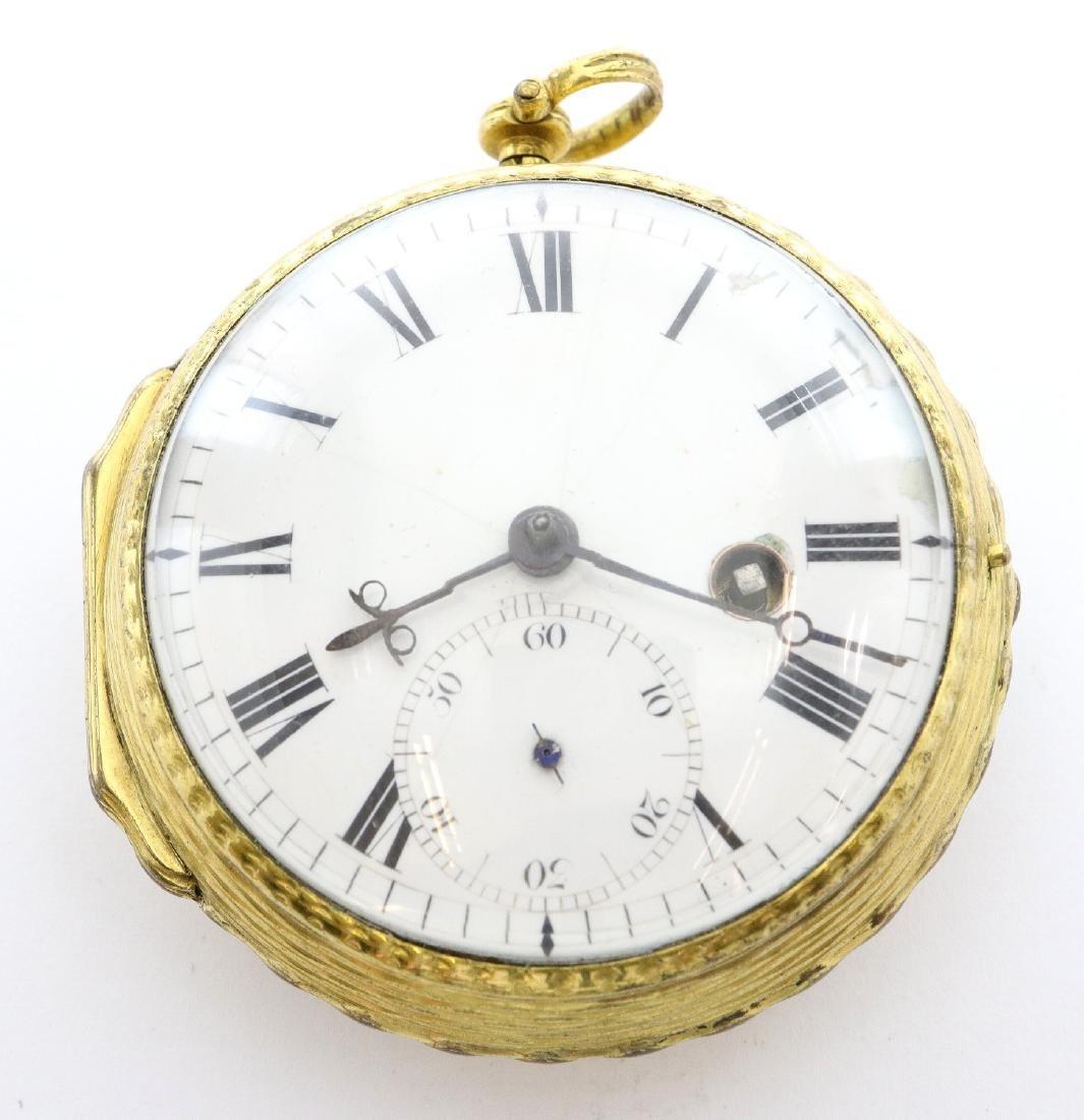 QA Period John Hill London pocket watch