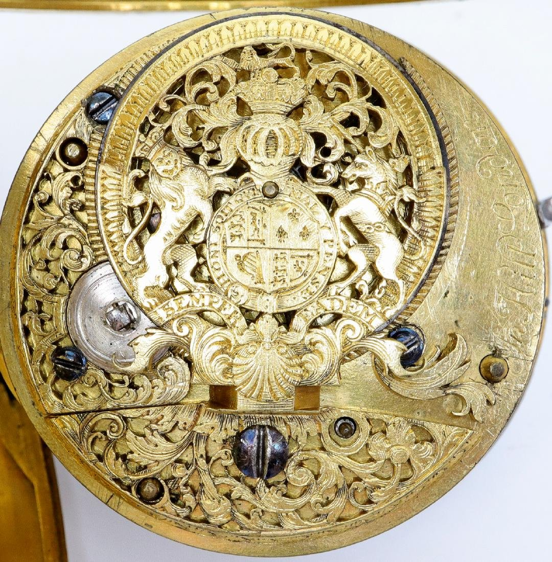 QA Period John Hill London pocket watch - 2