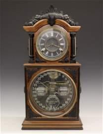 Ithaca No. 3 1/2 Calendar shelf clock