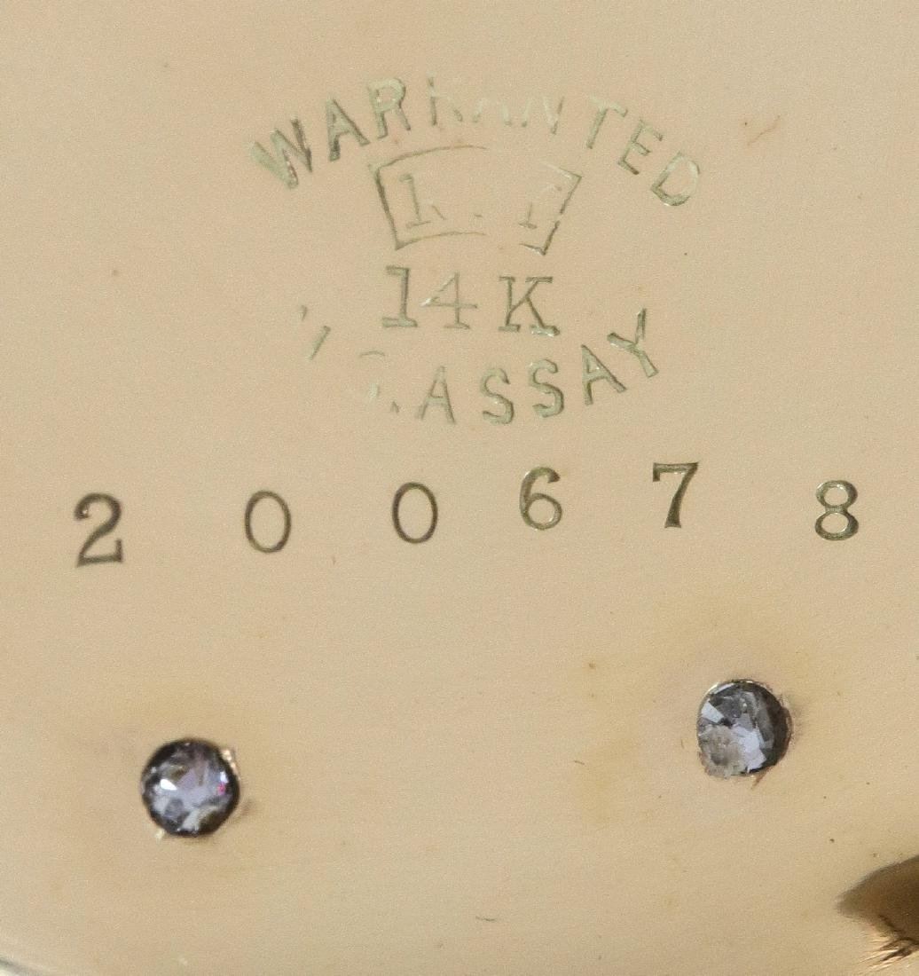 Hamilton 14k multi Gold pocket watch - 5