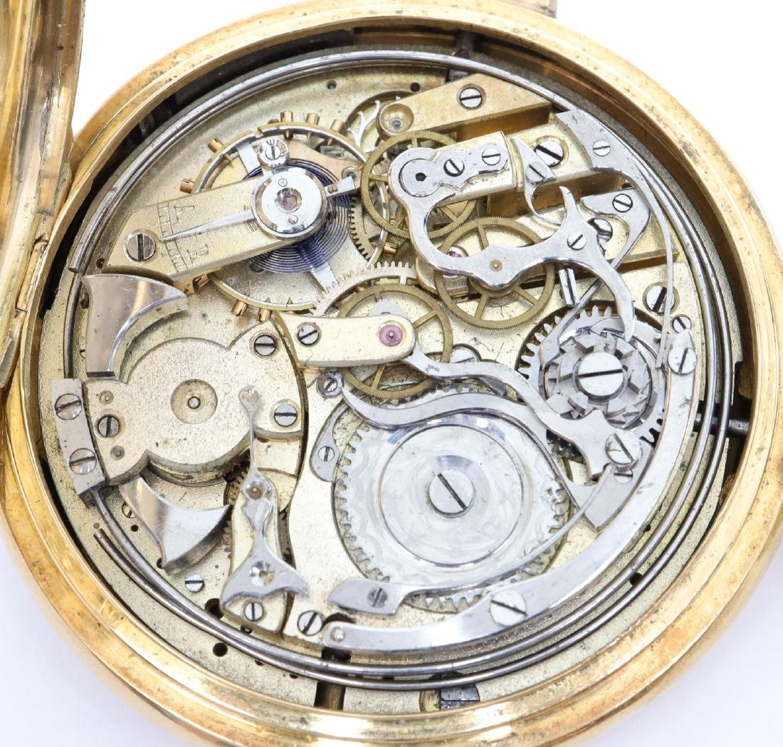Swiss 18k Gold Minute Repeater/Chronograph - 2