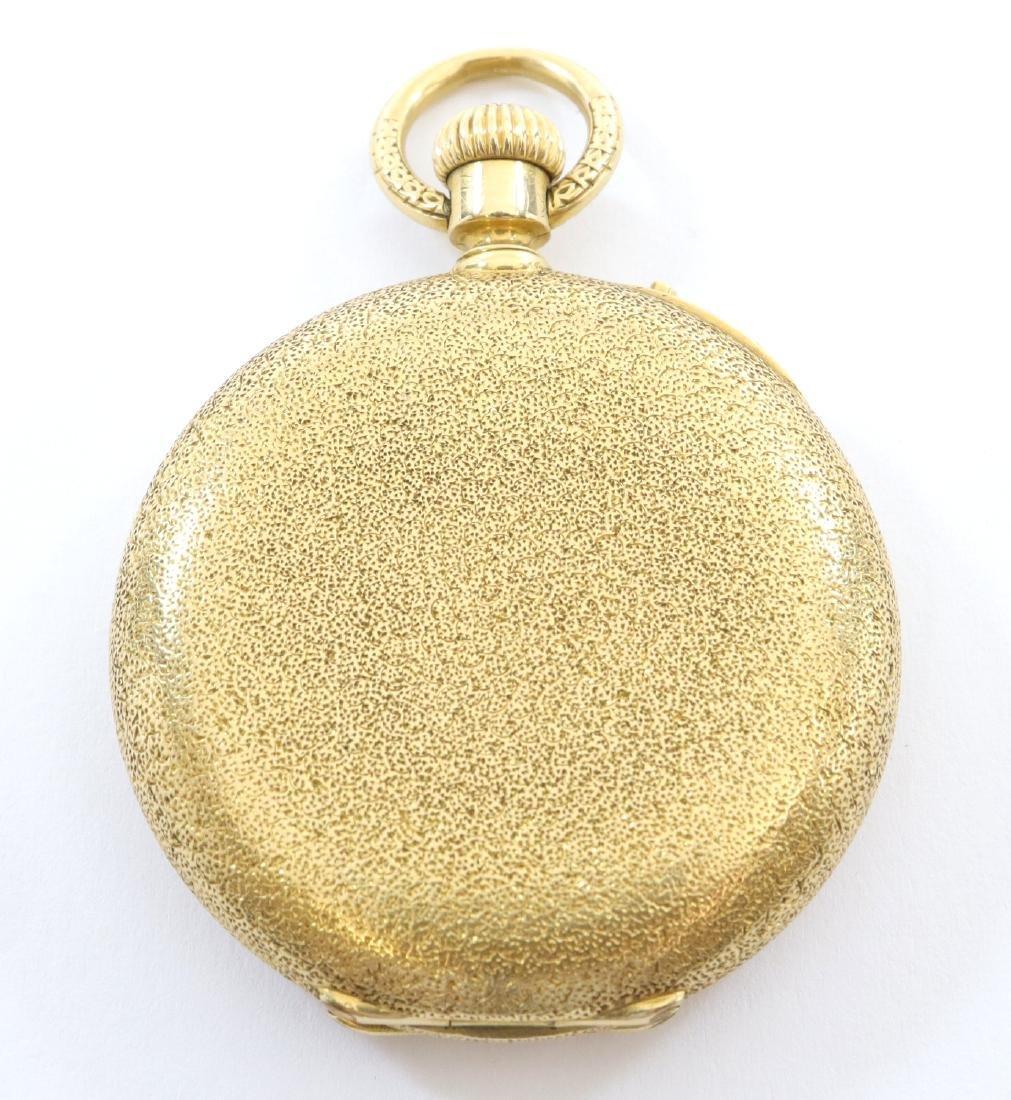 Henry Capt Enameled 18k Gold ladies watch - 5
