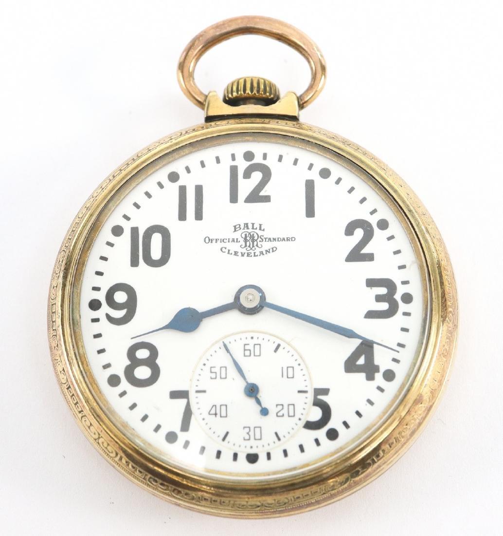 """Ball """"Official Standard"""" Railroad watch"""