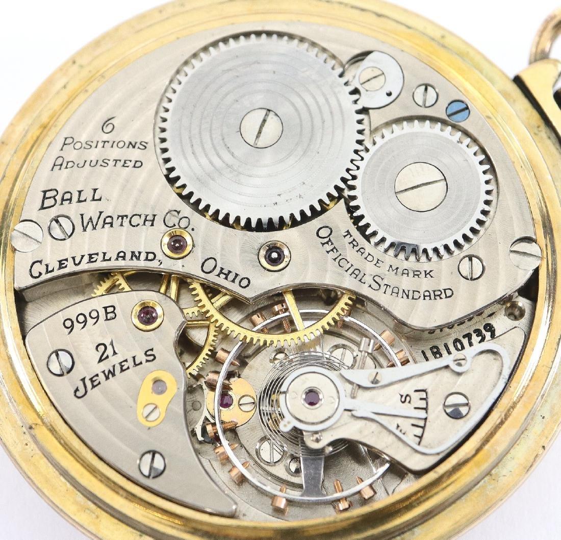 """Ball """"Official Standard"""" Railroad watch - 2"""