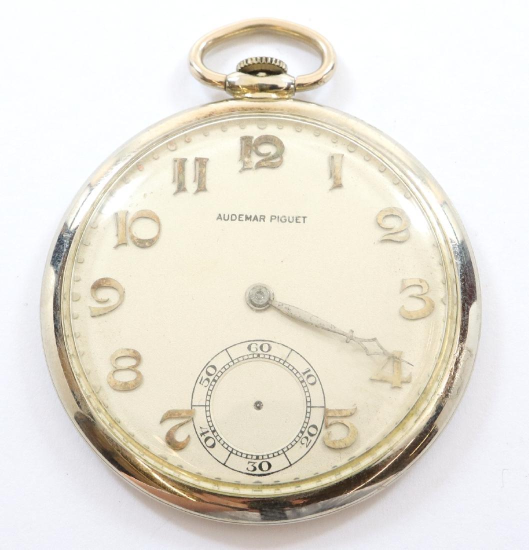Audemars Piguet 18k Gold pocket watch.