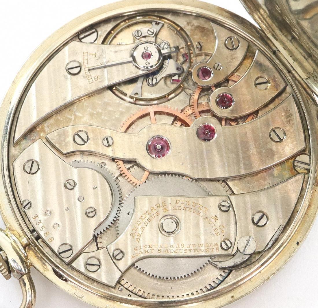 Audemars Piguet 18k Gold pocket watch. - 2