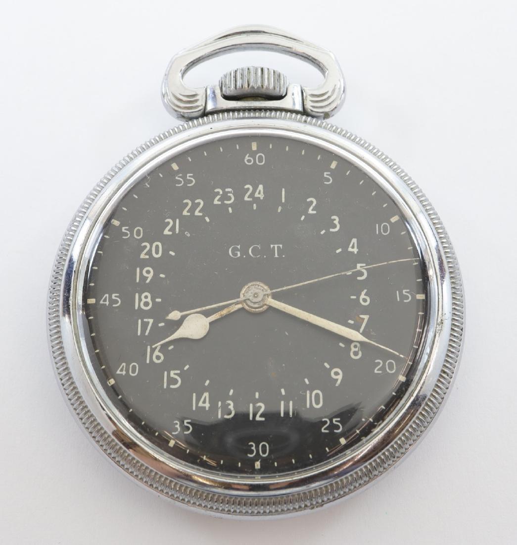 Hamilton Model 4992B Military Hack Watch