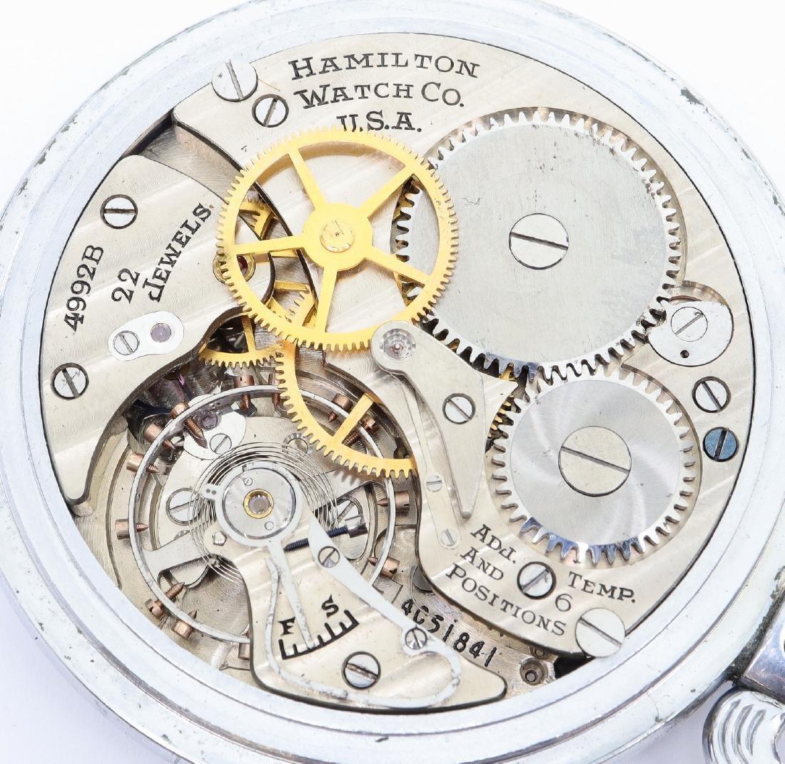 Hamilton Model 4992B Military Hack Watch - 2