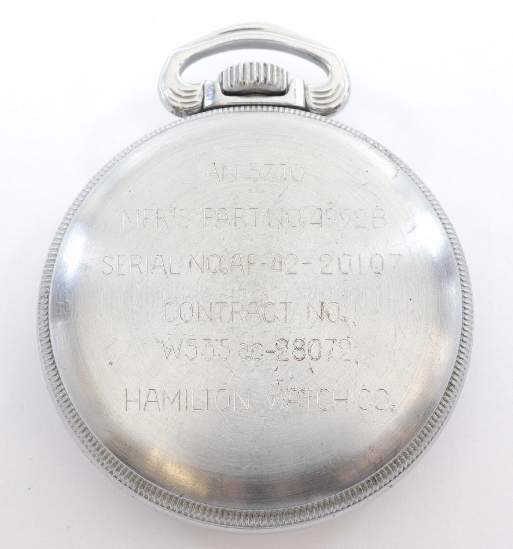 Hamilton Model 4992B Military Hack Watch - 3