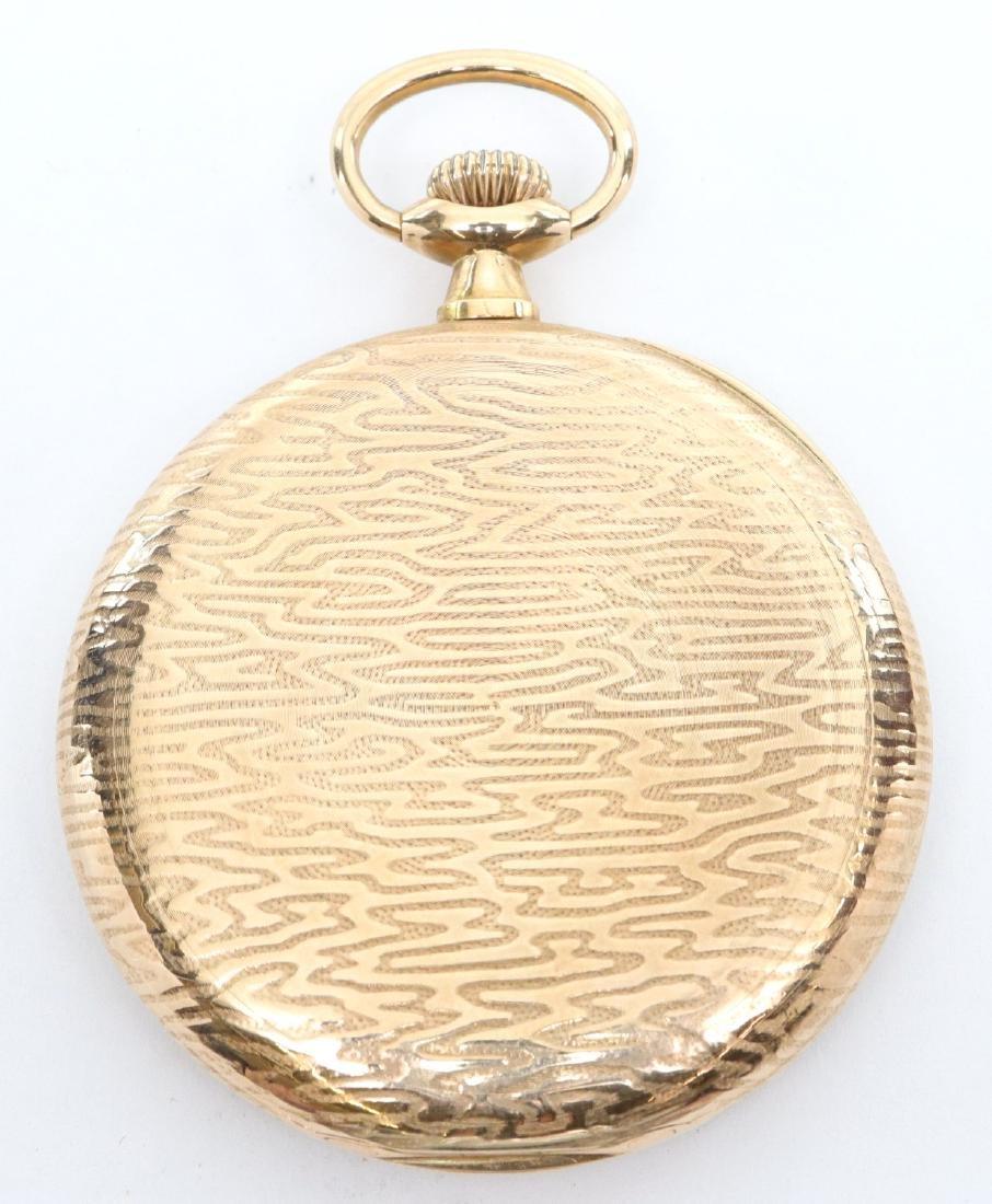 Longines 14k Gold pocket watch - 3