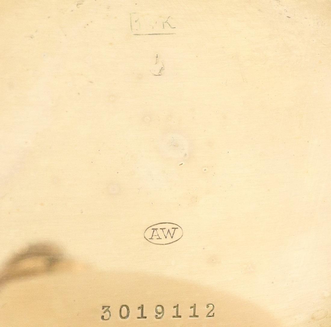 Longines 14k Gold pocket watch - 4