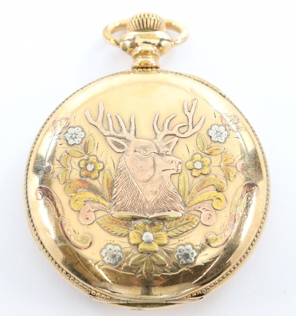 Manistee Watch Co. pocket watch