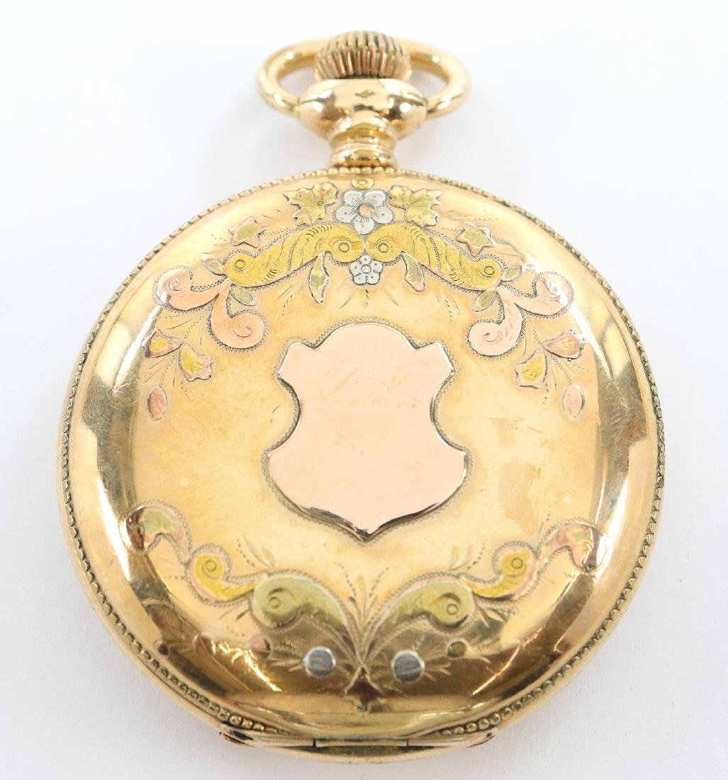 Manistee Watch Co. pocket watch - 4