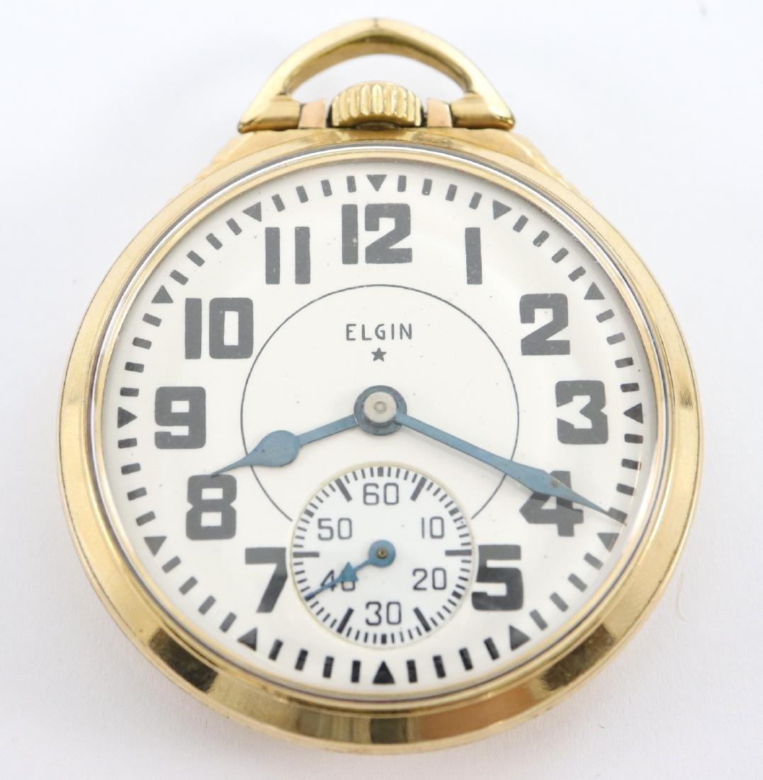 "Elgin ""B W Raymond"" Railroad watch"