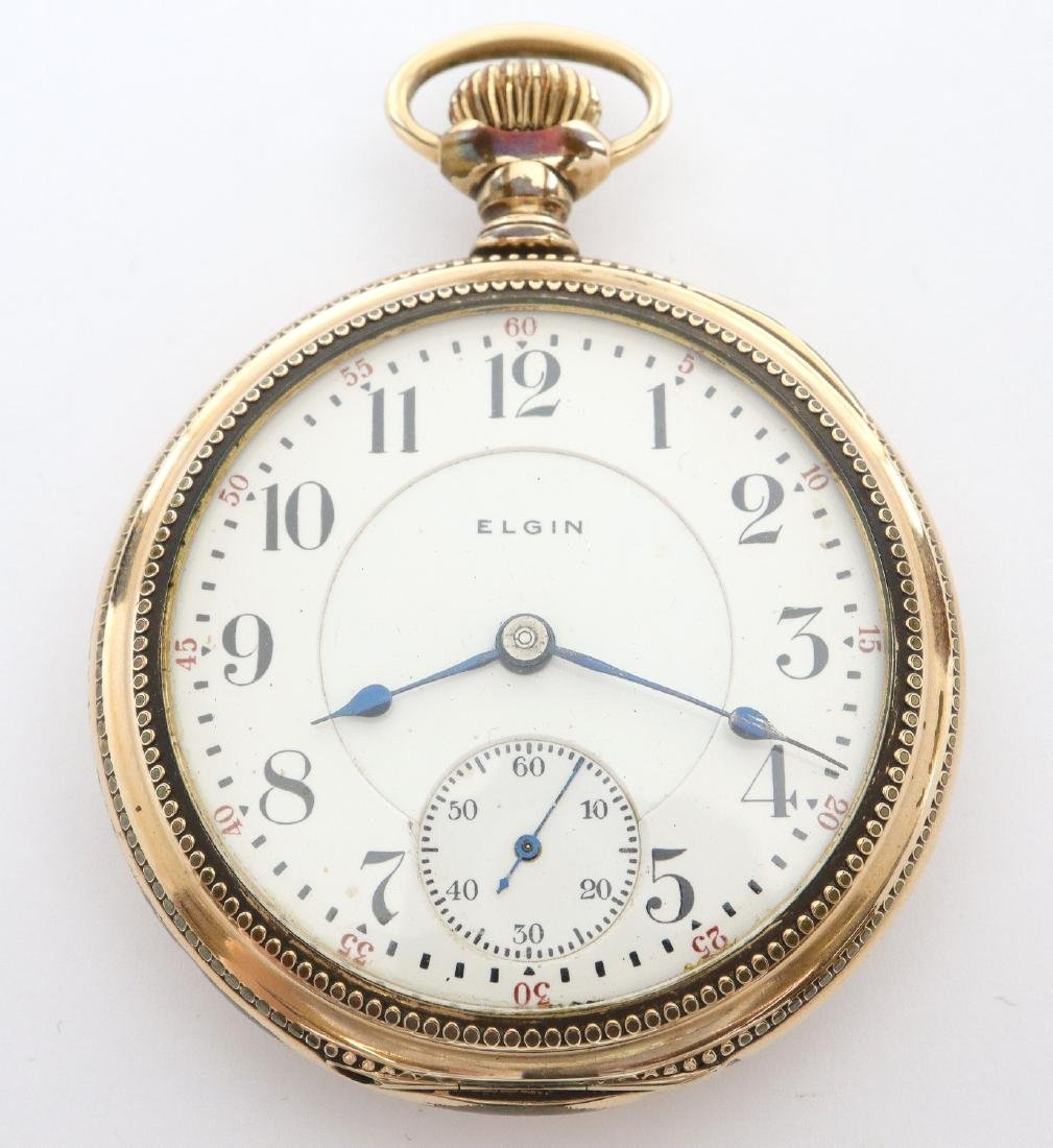 """Elgin """"Father Time"""" pocket watch"""