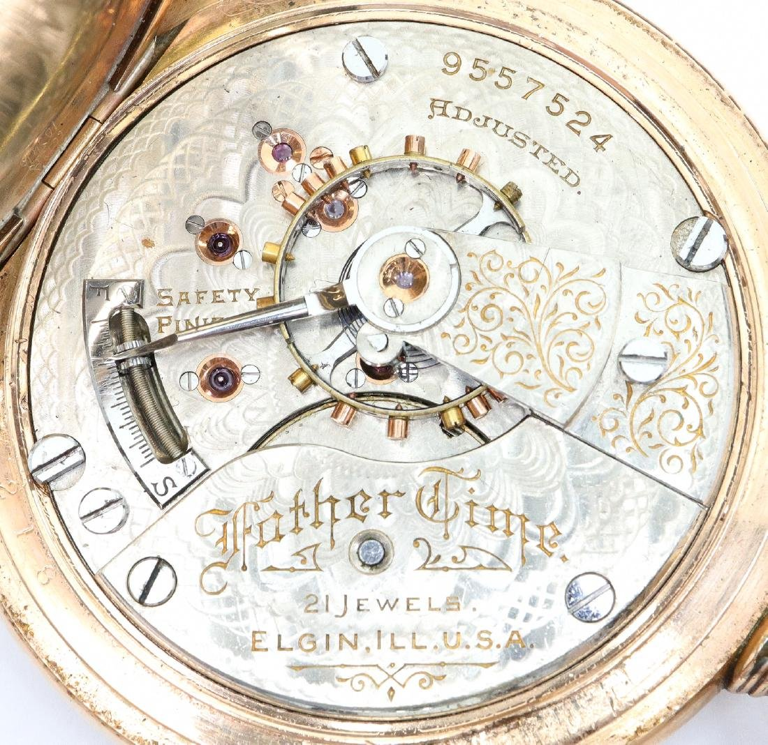 """Elgin """"Father Time"""" pocket watch - 2"""