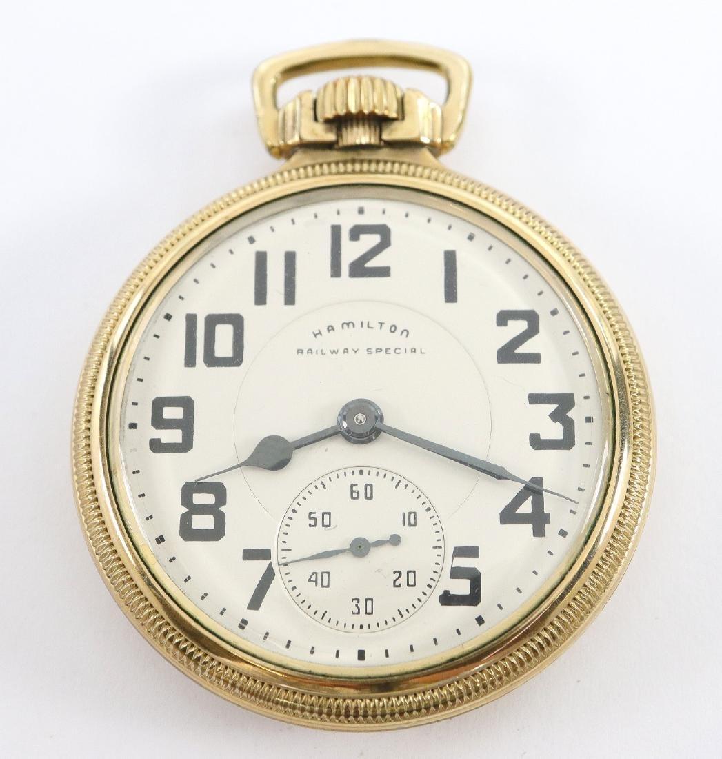 Hamilton 992B Railroad watch