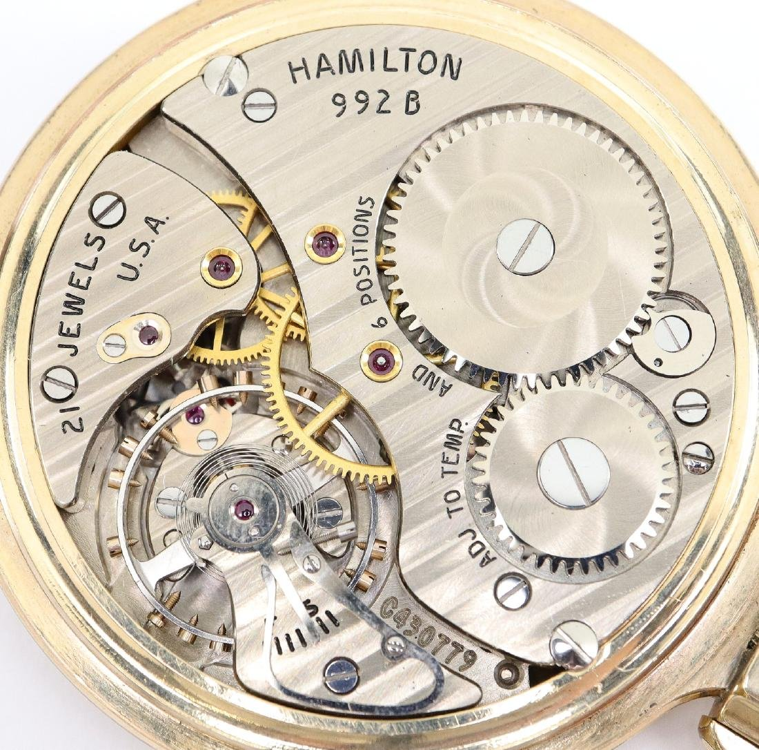 Hamilton 992B Railroad watch - 2