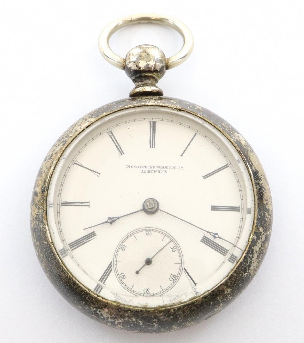 Early Rockford model 1 pocket watch