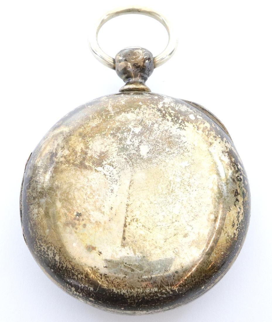 Early Rockford model 1 pocket watch - 3