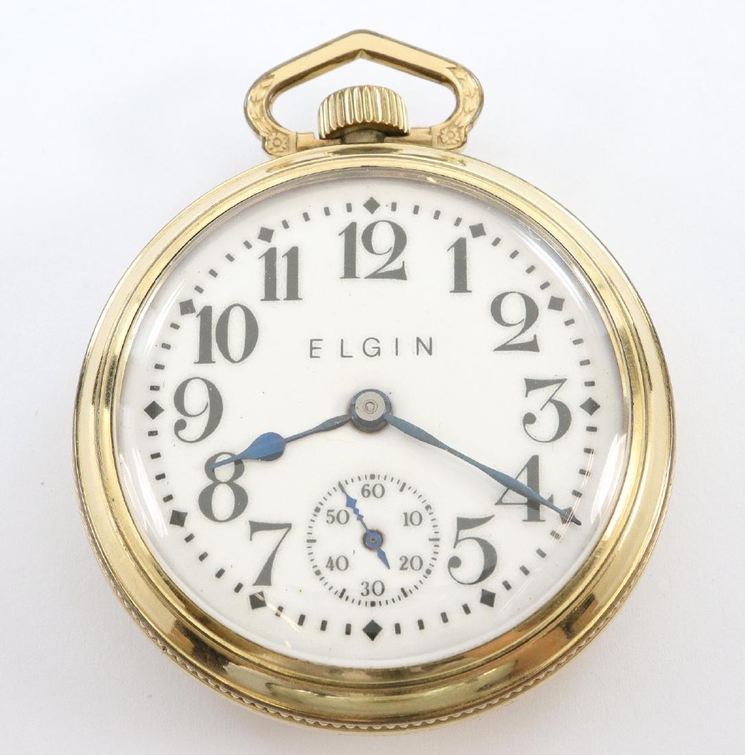 """Elgin """"B W Raymond"""" pocket watch"""