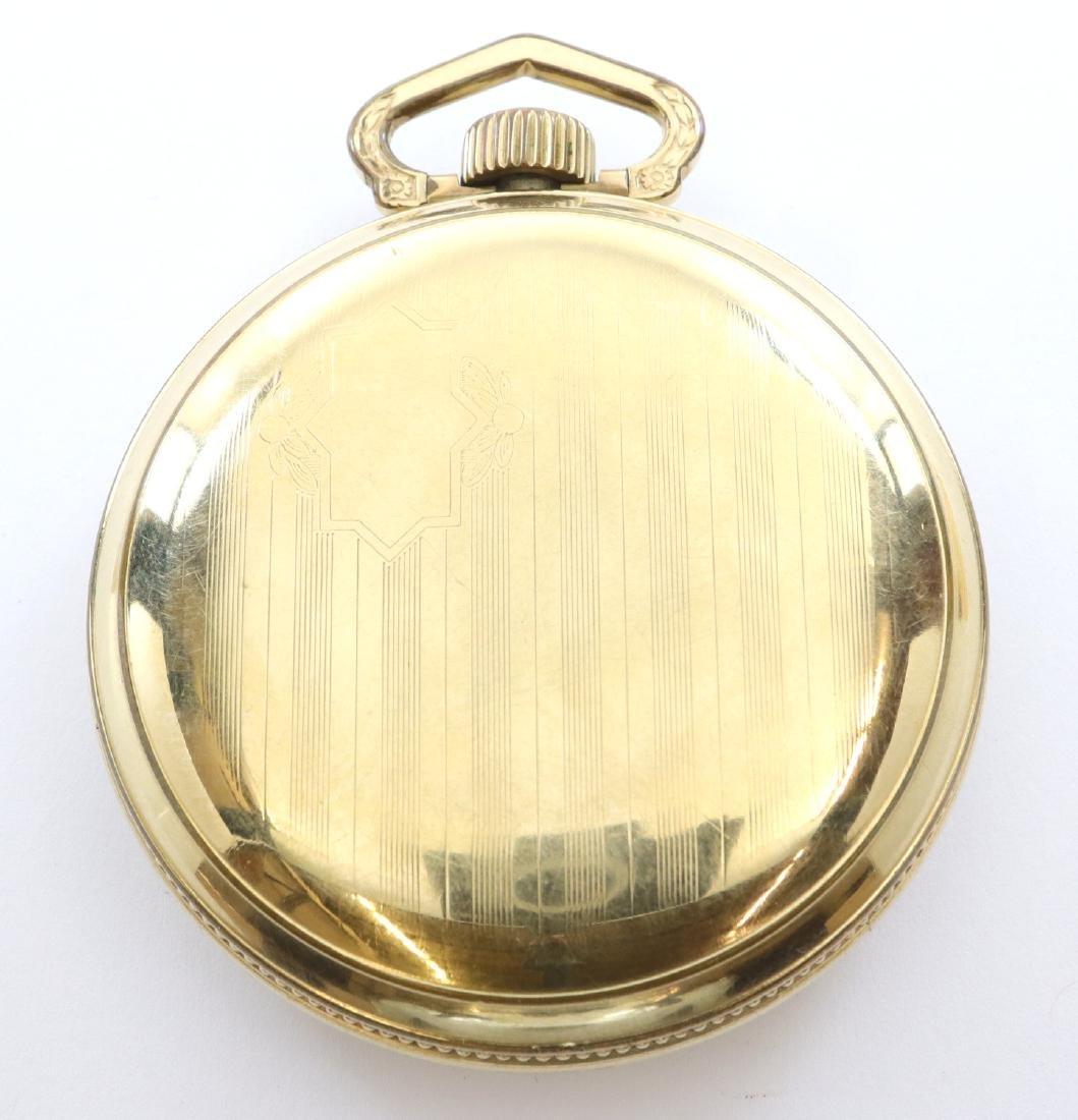 """Elgin """"B W Raymond"""" pocket watch - 3"""