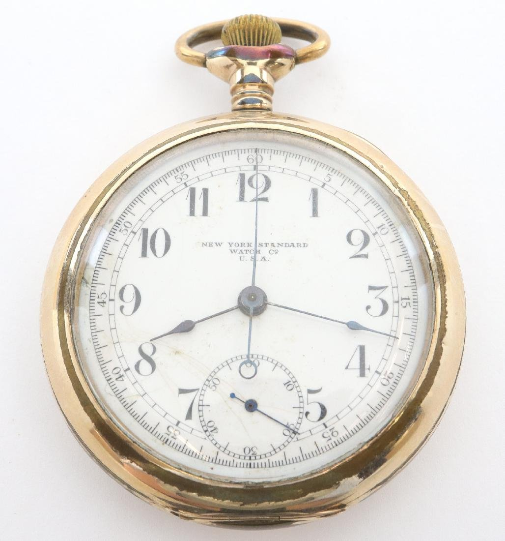 NY Standard Chronograph No. 165 pocket watch