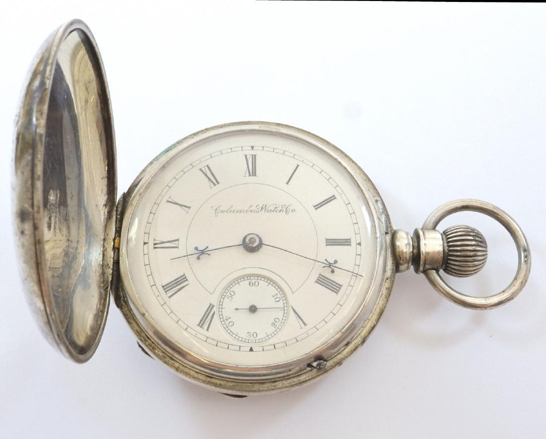 "Columbus Watch Co. ""R. W. K. Special"" pocket watch - 2"