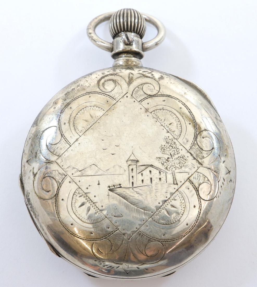 "Columbus Watch Co. ""R. W. K. Special"" pocket watch - 4"