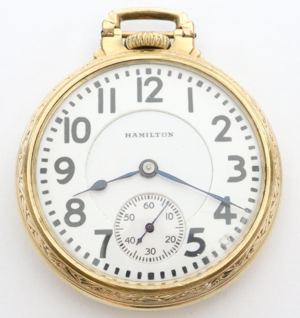 Hamilton 992 Railroad watch