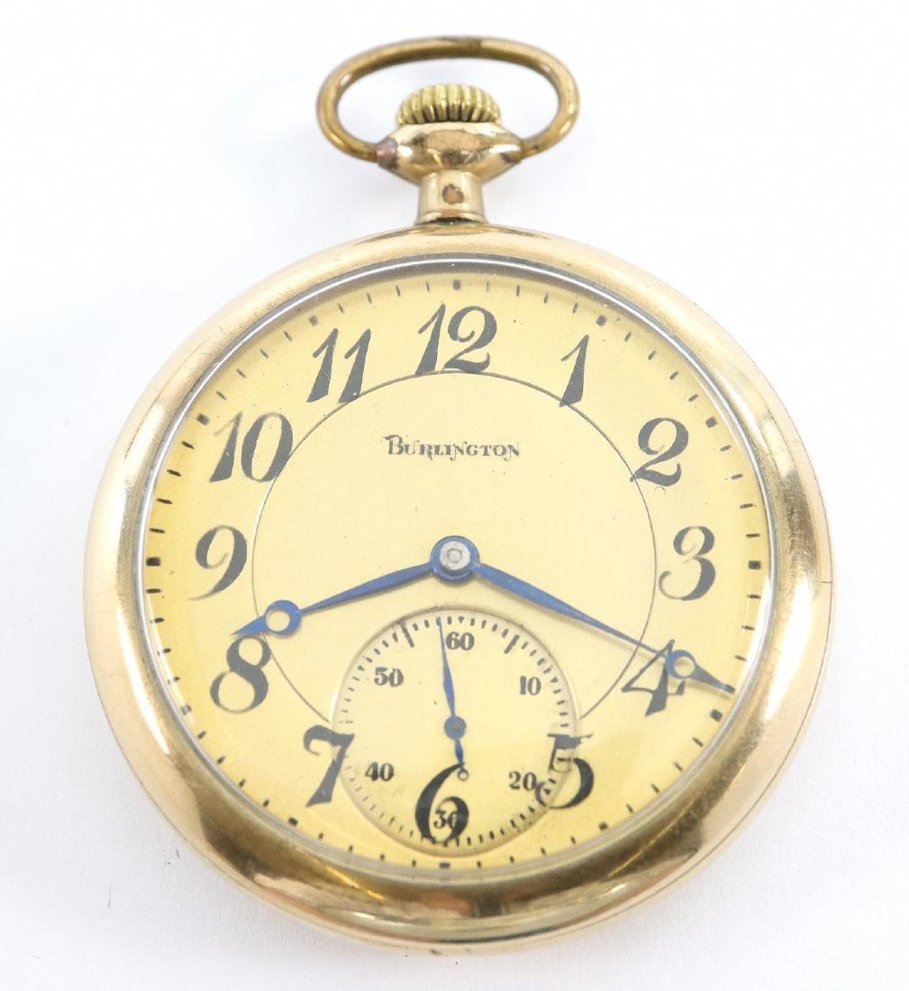 "Illinois ""Burlington"" pocket watch"