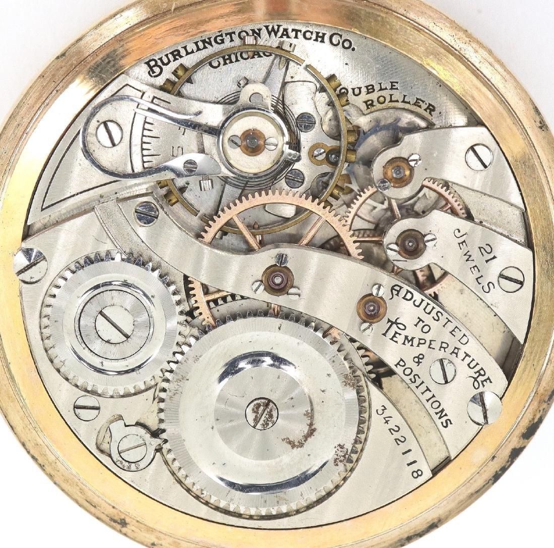 "Illinois ""Burlington"" pocket watch - 2"