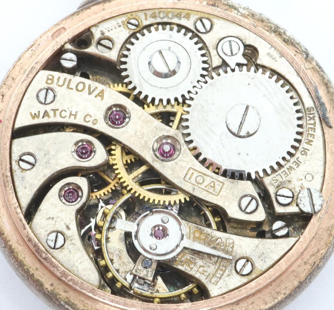 Bulova enameled pendant watch - 2
