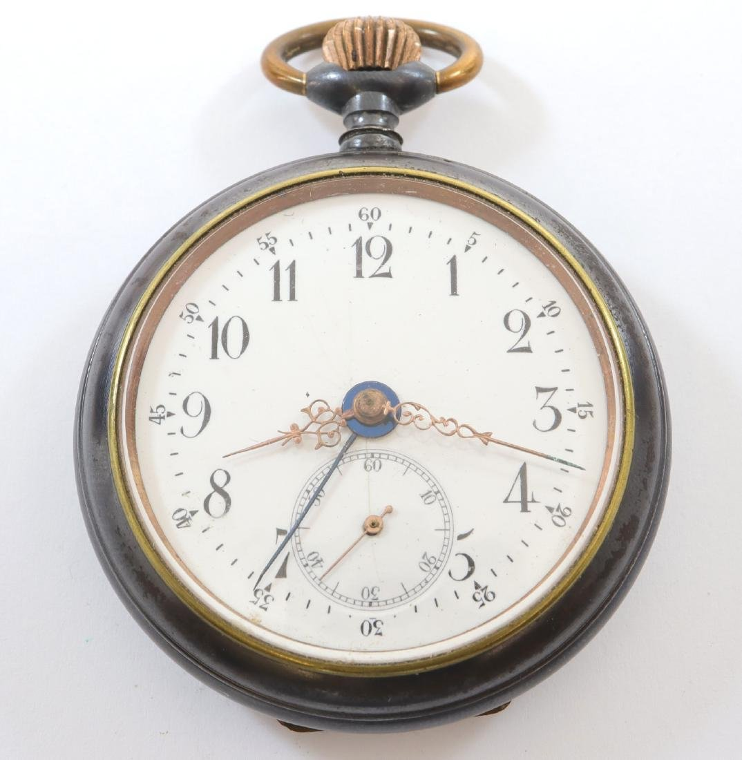 Swiss pocket watch w/alarm