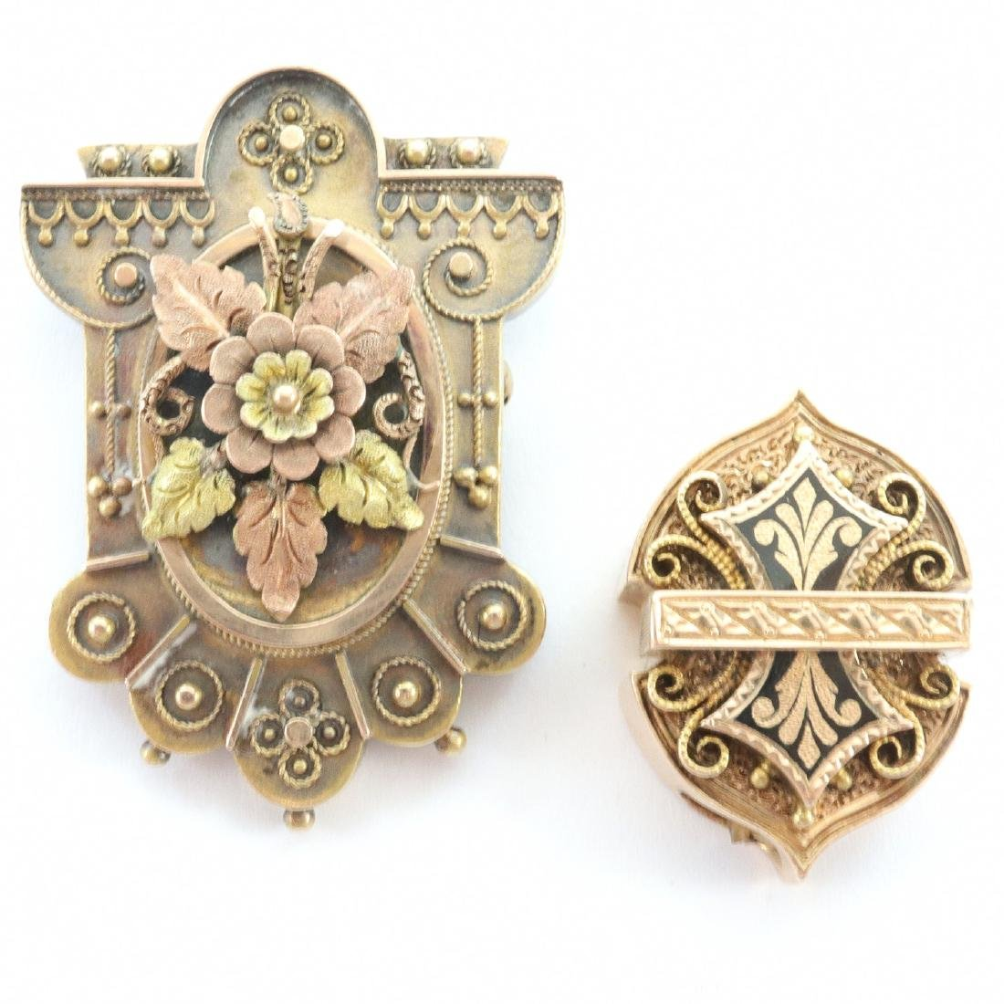2 pcs Victorian Jewelry