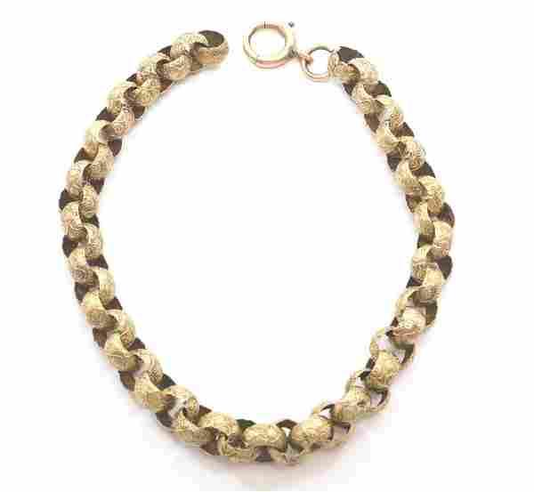 Victorian Gold Bracelet