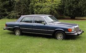 1980 Mercedes 450 SEL