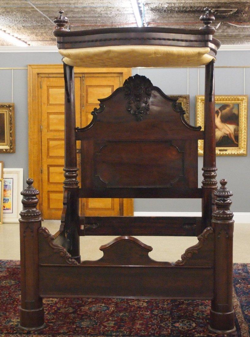 J & J W Meeks Victorian bed