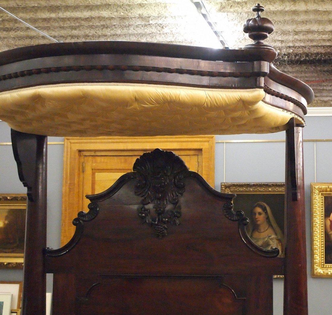 J & J W Meeks Victorian bed - 2