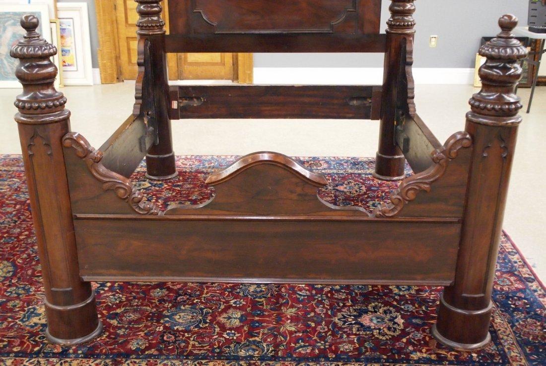 J & J W Meeks Victorian bed - 3