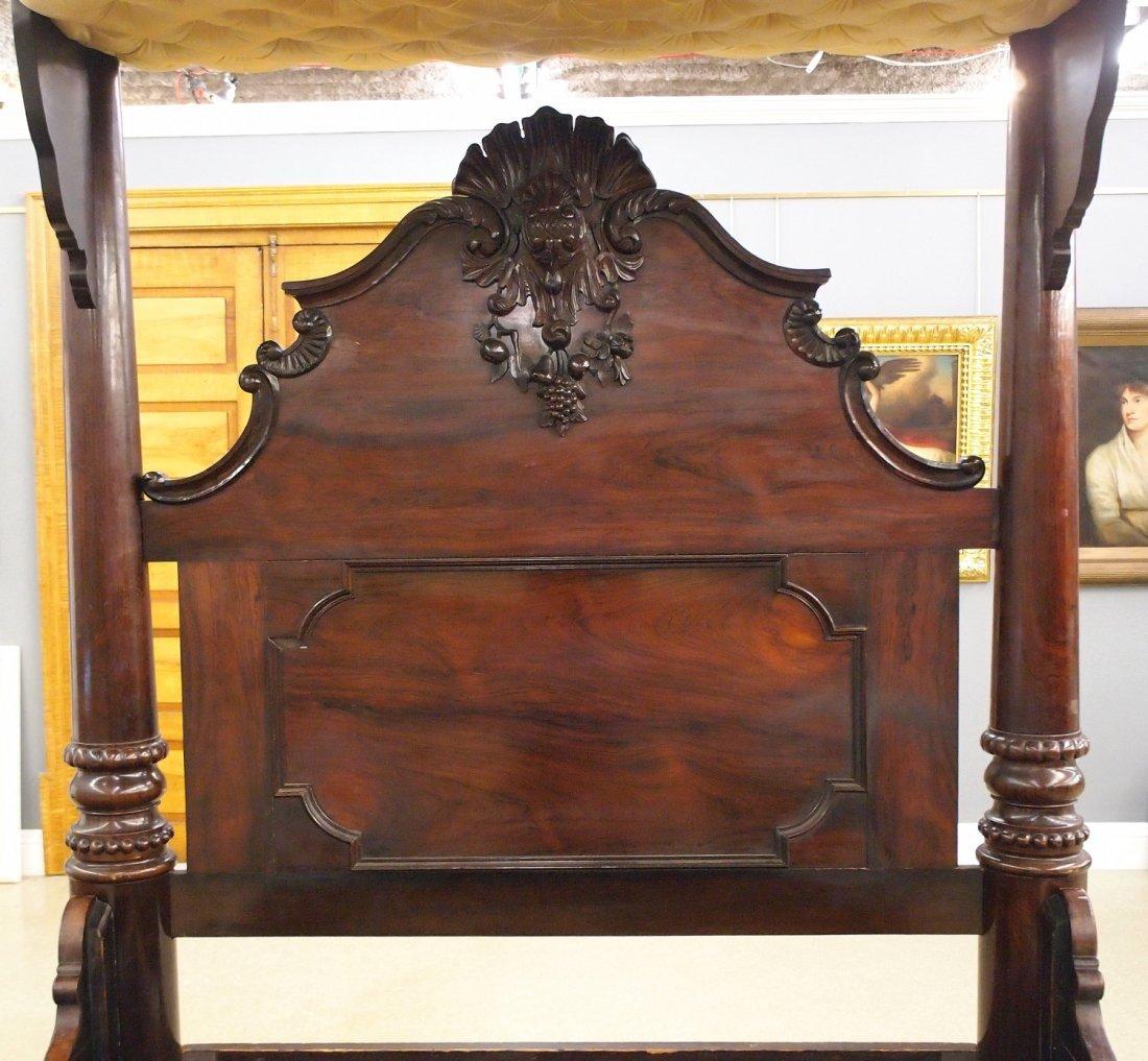 J & J W Meeks Victorian bed - 4
