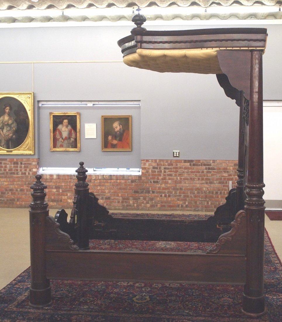 J & J W Meeks Victorian bed - 5