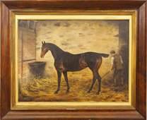 E P landscape with horse