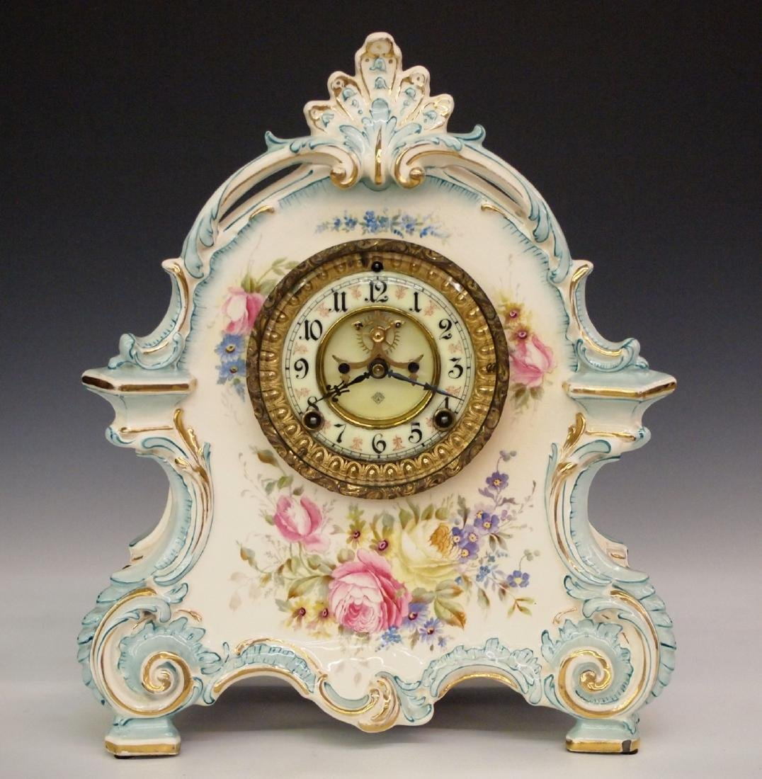 Ansonia China clock